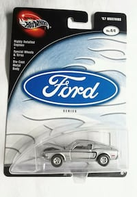 HOT WHEELS '67 MUSTANG COUPE REAL RIDERS DIECAST FORD SERIES