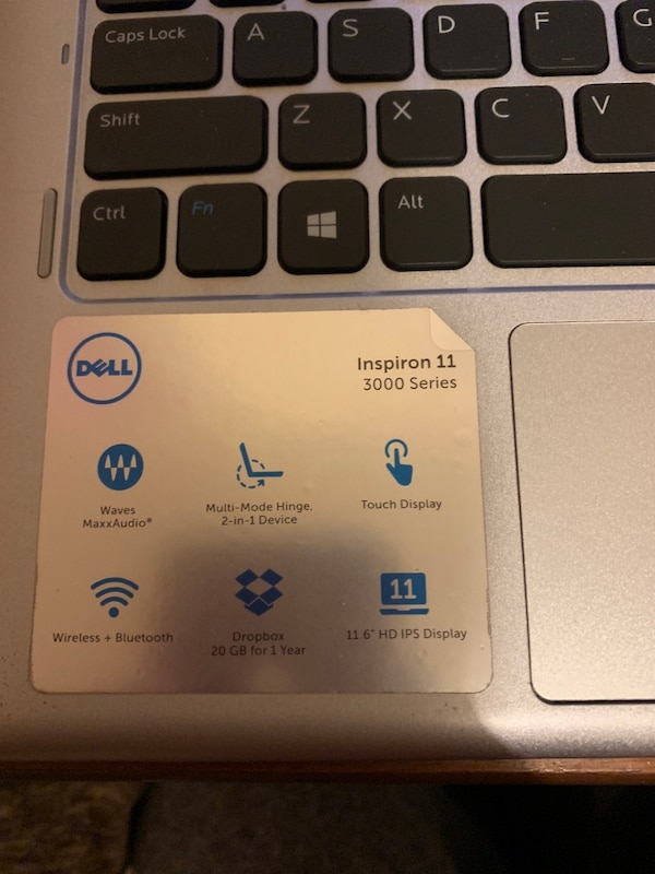 Dell touchscreen laptop Inspiron 11 3000 series