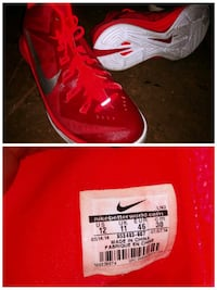 Nike Red Shoes 12