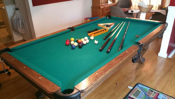 Used Ft Kasson Pool Table For Sale In St Clair Shores Letgo - 8ft kasson pool table