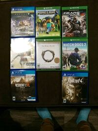 PS4/Xbox One games ($10.00 each) Riverdale, 84405