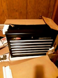 black and gray Craftsman tool chest Loogootee, 47553