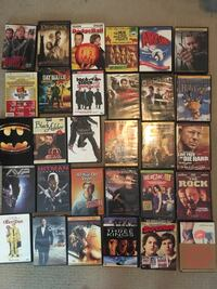 Assorted dvd movie lot Vancouver, V6B 0A2