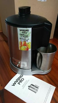 Stainless Steel Warning Pro juice extractor New Westminster, V3M 6Z5