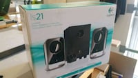 black and gray Logitech multimedia speaker box Halifax, B3J