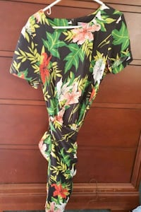 Carol Anderson Tropical Wrap dress size 6 Herndon, 20171