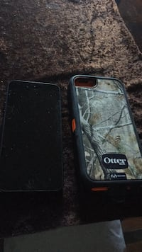 Space gray iphone 5 and multicolored otterbox camouflage case null, V0H 1R2