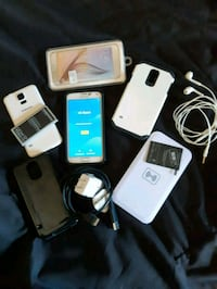 white Samsung Galaxy smartphone with box Toronto, M1L 3V3