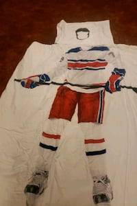Hockey comforter for twin size bed