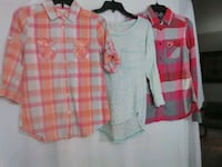 Two XS American Eagle shirts & Hollister longsleeve tee Cave City, 42127