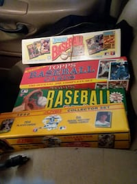 Unopened boxes of Baseball ccards Portland, 97233