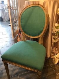 6 Louis chairs asking $100 each that I paid over $200 each for 555 km