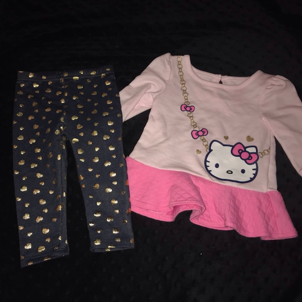 Used Hello Kitty Baby Outfit For Sale In Fort Worth Letgo