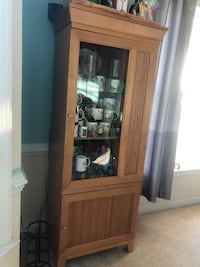 Dining room armoire. In great shape other than the door (shown) Indian Head, 20640