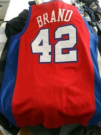 red and blue NBA CLIPPERS jersey Saratoga County, 12065