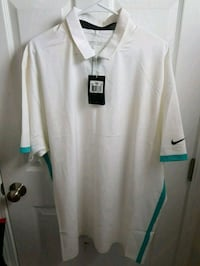 New Men's Nike Dri Fit Golf Shirt sz XXL Raleigh, 27610