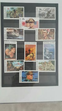 Stamps world war 2 Marshall Islands