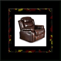 Burgundy recliner chair Ashburn, 20147