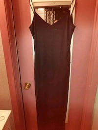 women's black dress with shoulder scarf Windsor, N8R 2E8