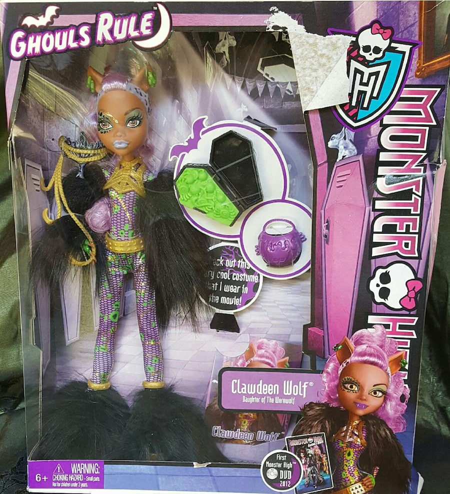 monster high clawdeen wolf for sale  Modesto