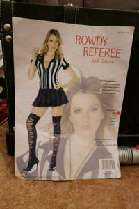 Rowdy referee costume for adults  Vaughan, L6A 4B1