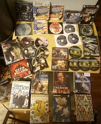 assorted PC Games ( cases and discs ) Montréal, H4B 1R7