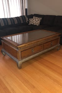 Wooden coffee table Burnaby, V5C 1E2