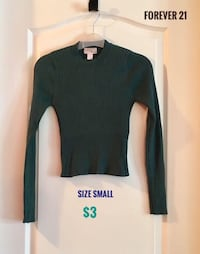 Forever 21 Size Small Crop Top in Good Condition  Montréal, H4M 2K7