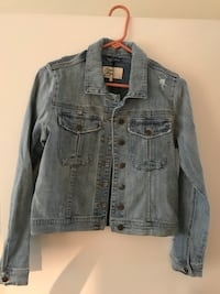 Cosmic Blue Love Denim jacket, never worn Washington, 20001