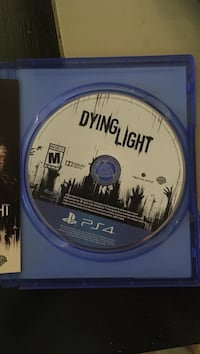 Dying light ps4 game and case
