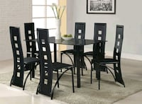 Table and six chairs set brand new  Scottsdale, 85257