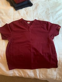 Gently Used Red Scrubs Cape Coral, 33990