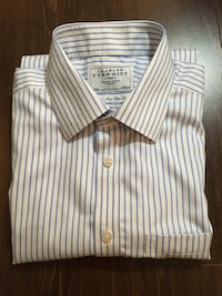 Charles Tyrwhitt Men's Dress Shirt Size 16 Richmond, V7B 1C7