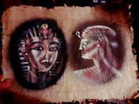 two Egyptian god painting Grass Valley, 95945