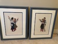 Ukrainian Dancer Needle Point Framed Art Edmonton, T5Z 0J3