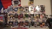 assorted funko pops Los Angeles, 91344