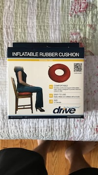 red Drive inflatable rubber cushion box