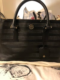 Tory Burch double zip leather tote New York, 10023