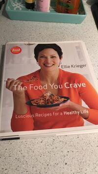 The Food you Crave by Ellie Krieger book Hobart, 46342