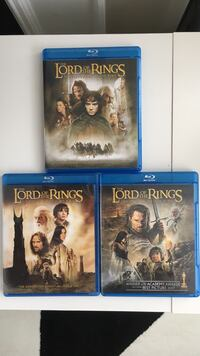 Bluray complete set Lord of the Rings Charlotte, 28216
