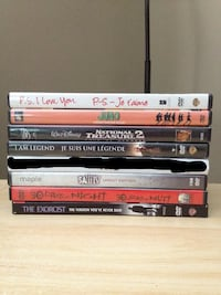 DVDs for Sale $2.00