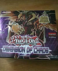 Yugioh Dimension of Chaos booster box Mississauga, L5L