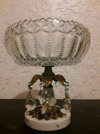 Lead Crystal Glass Candy Dish.