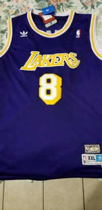blue and yellow Lakers 8 jersey shirt El Paso, 79936