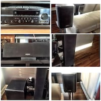 Home theater surround sound system with Subwoofer Montreal, H1S 1Z9