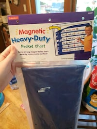 New magnetic pocket chart (great for teachers) Fairfax, 22032