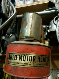 Automotive heater early 1900s