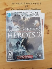 Wii Medal of Honor Heros 2- Strathroy Strathroy