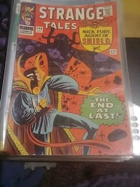 Strange Tales Nick Fury agent of shield 146 Silver Spring, 20906