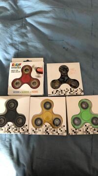 Fitget spinners 2 dollars per fidget spinner, or 8 dollars for all 5 Winchester, 22602